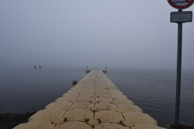 Steg am Strandbad Lanker See
